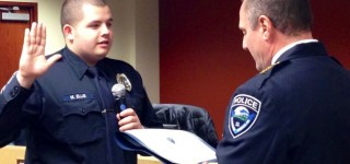 New MLT reserve police officer sworn in