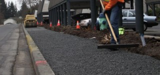 Sidewalk replacement work underway on 216th Street Southwest