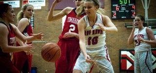 Girls basketball: Hawks pull out 52-45 win over M-P on Senior Night