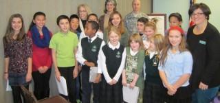 VFW Post recognizes essay award winners