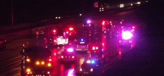 Tanker rollover closes I-5 through MLT overnight; Bremerton man killed