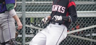 Baseball: Hawks have their way with Warriors in 13-3 win