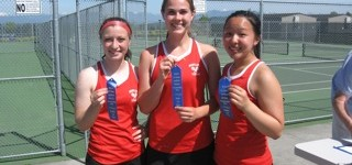 Hawks sports roundup: Tennis team takes girls Wesco South singles, doubles titles
