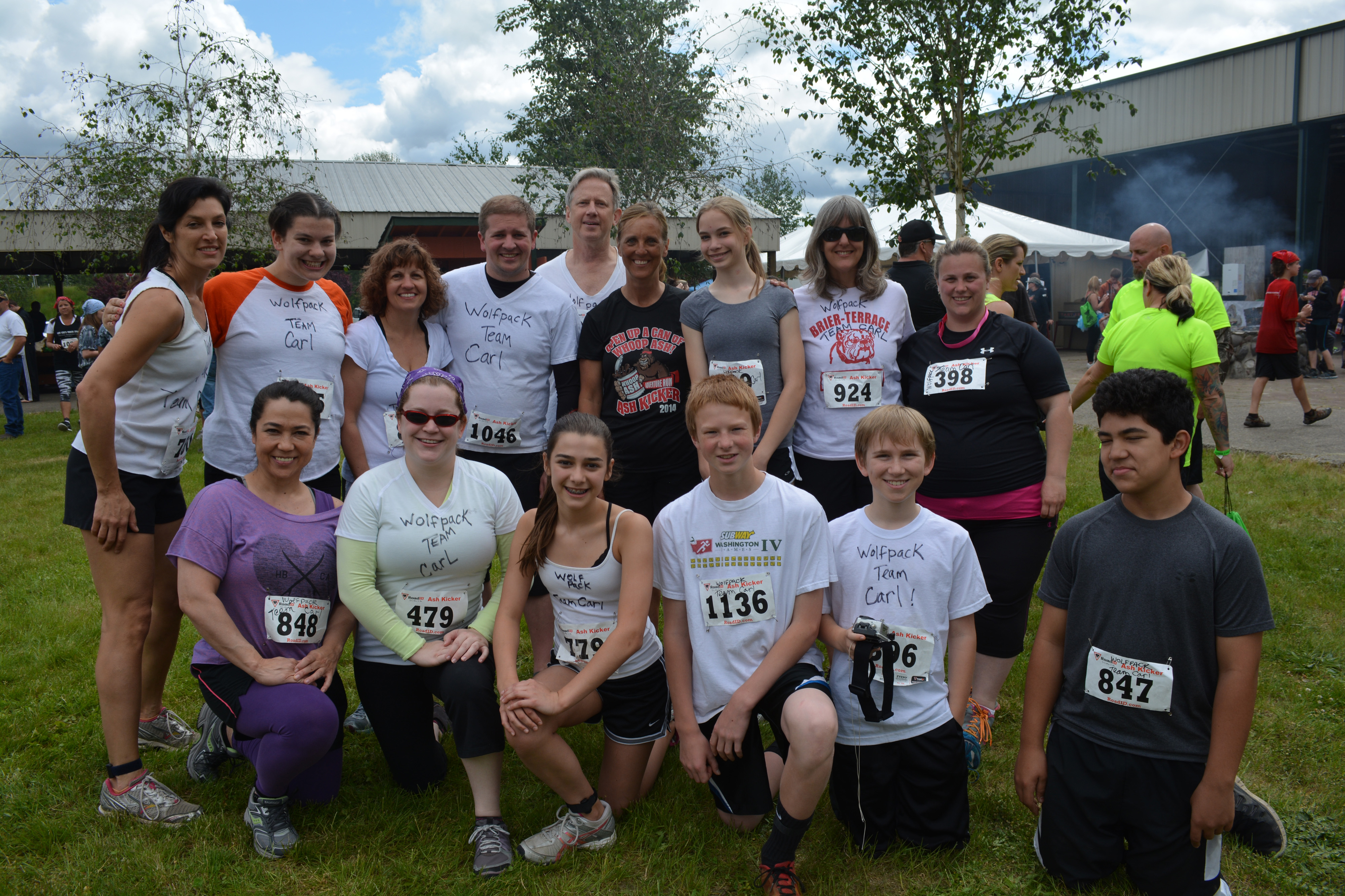 Btms running club has top finishers in 5k adventure run for Terrace jogging track