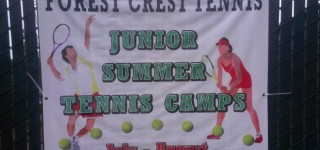 Forest Crest Athletic Club hosting tennis camps July 7-Aug. 21