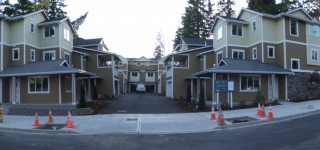 Mountlake Terrace Town Center's second townhome project almost complete