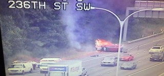 No injuries in two-car accident on I-5 through MLT Wednesday