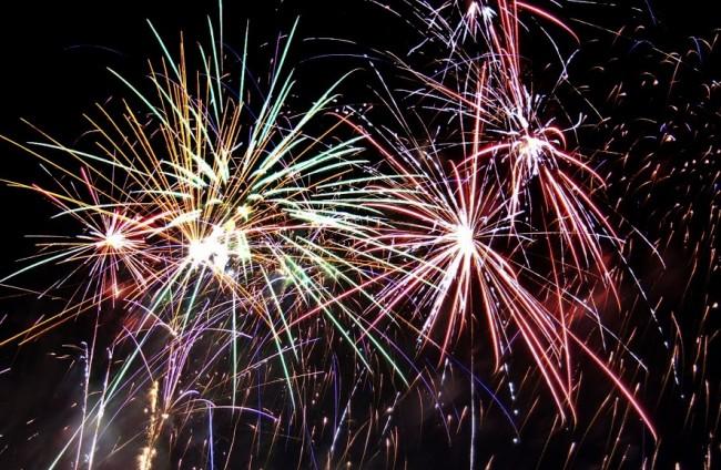 Tour de Terrace fireworks 2013