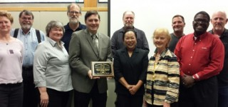 Rep. Stanford receives 'Outstanding Legislator' award from Washington Association of Sewer & Water Districts