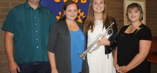 Rotary Club of Alderwood-Terrace recognizes top high school musician