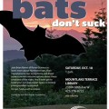 Go batty during Science Saturdays at Mountlake Terrace Library