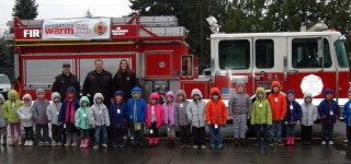 Snohomish County Fire District 1 firefighters donate 'Coats for Kids'