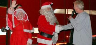 Santa and Mrs. Claus crash Brier's Tree Lighting