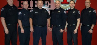 Fire District 1 promotes six to rank of captain