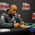Happening nearby: Fans line up to see Seattle Seahawk Doug Baldwin