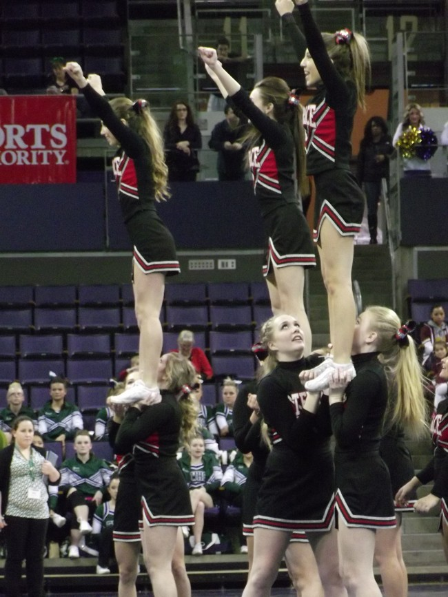 Mountlake Terrace at the 2104 state championships.