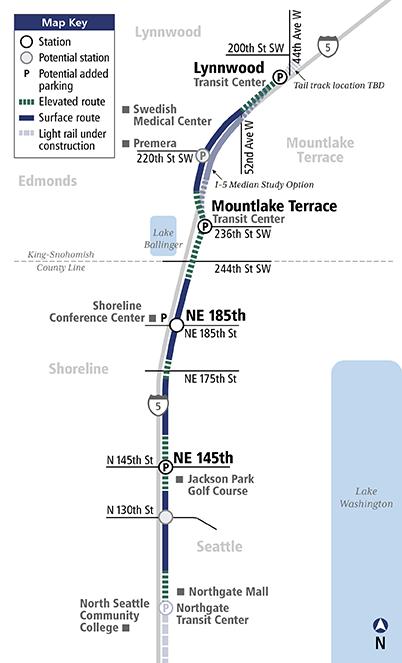 Lynnwood Link Extension Map Mltnews Com