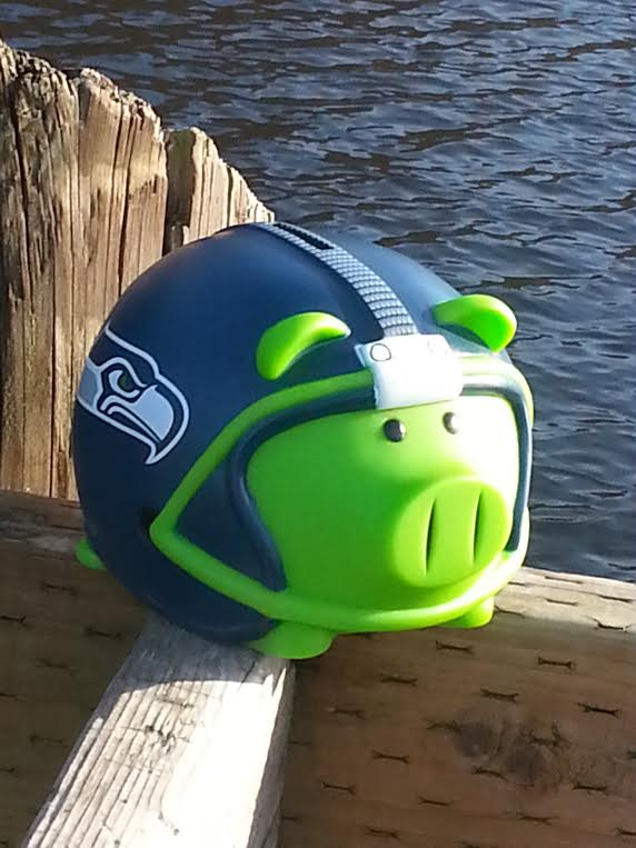 Piggy at Lake Ballinger