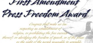 Mountlake Terrace High School to receive First Amendment Press Freedom Award