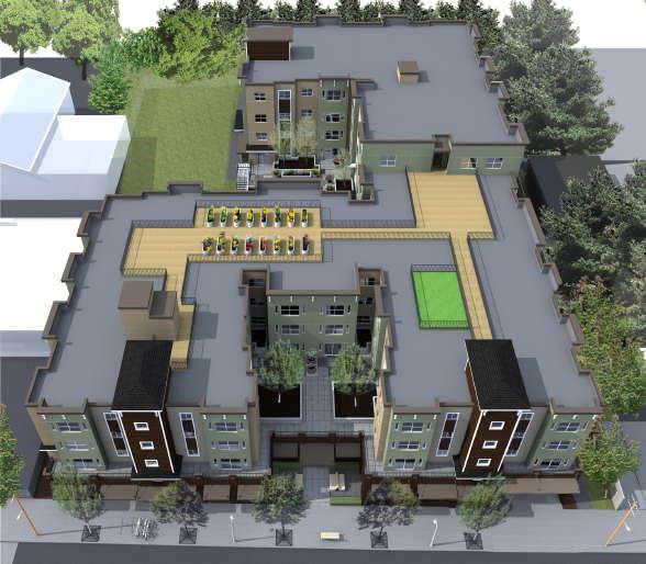 Mountlake Senior Living Apartments artist's rendering