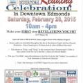 Read Across America activities set for Revelations Yogurt, Lynnwood Bowl and Skate