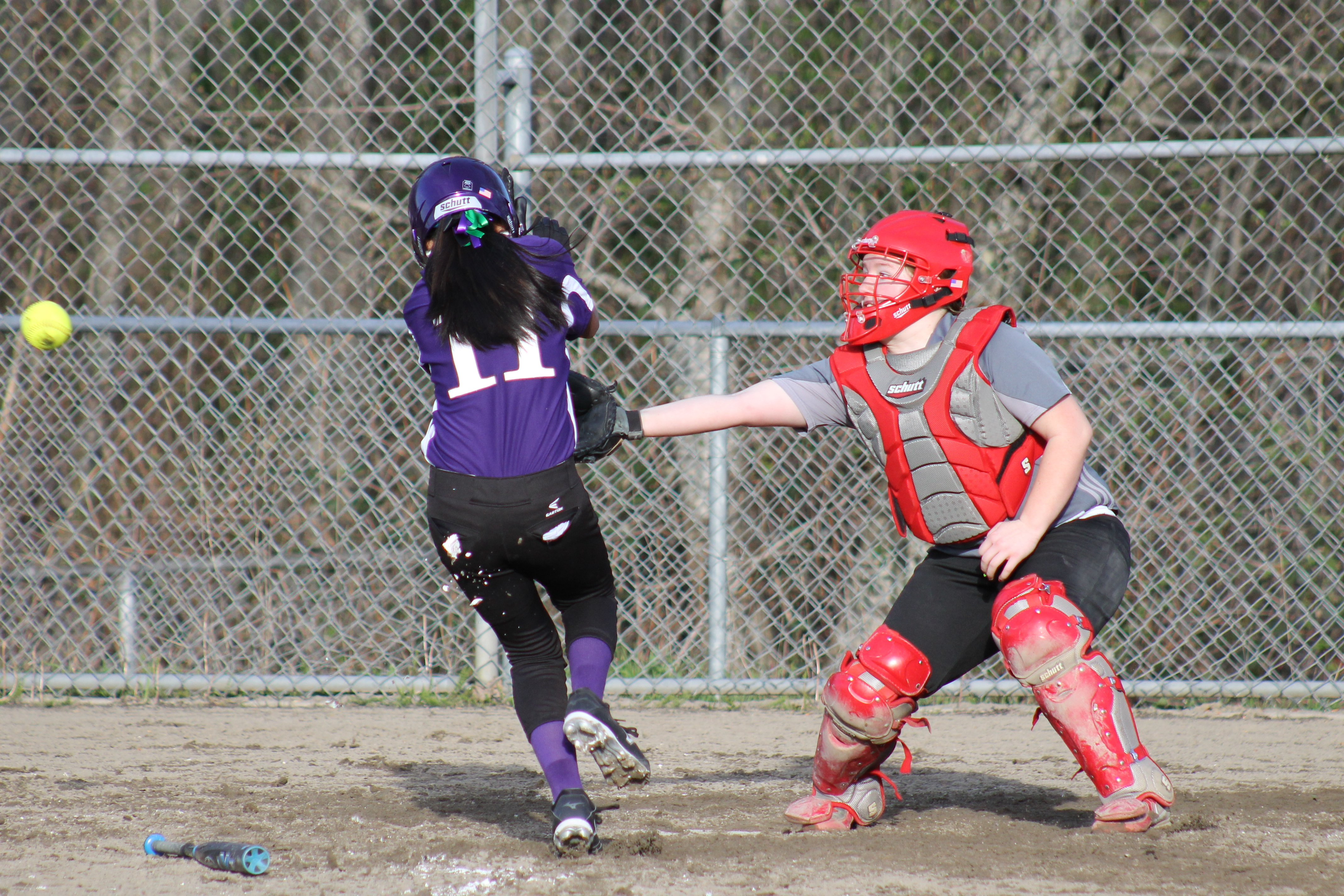 Prep Softball Wilcox 39 S Home Run Lifts Hawks Past Warriors In 8 Inning Thriller