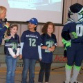 Seahawks promote exercise, nutrition at Mountlake Terrace Elementary