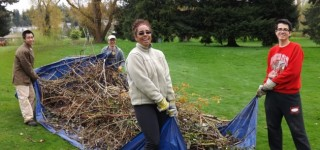Celebrate Earth Day by volunteering at Ballinger Park on Saturday