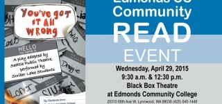 Reminder: Scriber Lake High School authors headline EdCC's annual Community Read event on Wednesday