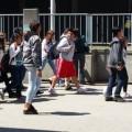 Alderwood Middle School students stage protest against racism