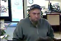 Police release photos of suspect in Tuesday Banner Bank robbery