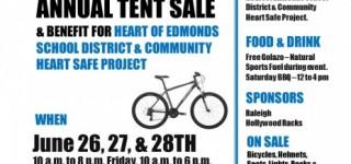 Reminder: Harvy's Bike Shop to host Heart of Edmonds School District benefit June 26-28
