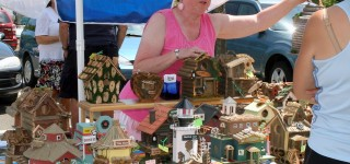 Scene in Mountlake Terrace: Ballinger Summer Festival and Craft Fair in full swing