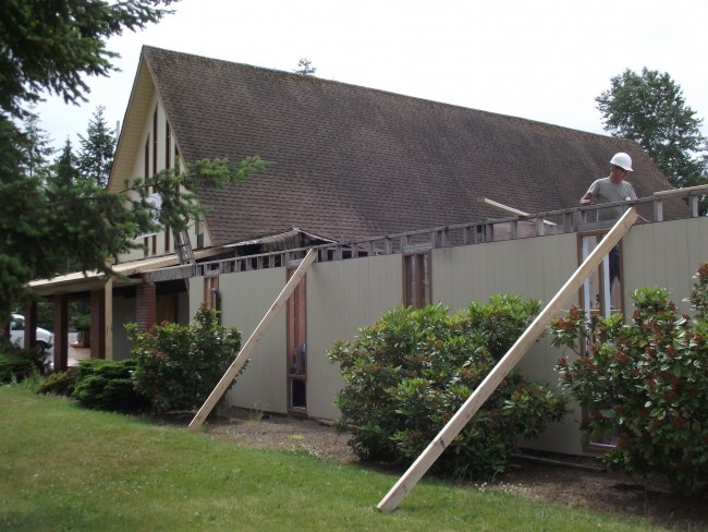 Mt. Zion Lutheran reconstruction, June 18 006