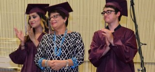 2015 Commencement: Scriber Lake students honor principal who 'wills them to succeed'
