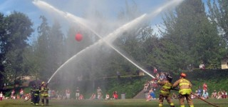 Firefighters to compete in July 4 waterball contest