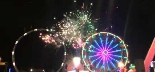 Tour de Terrace Video: Fireworks Show
