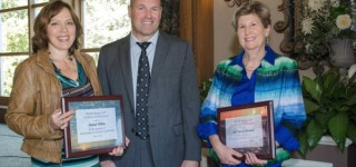 State school administrators group recognizes Diana White, Nancy Katims