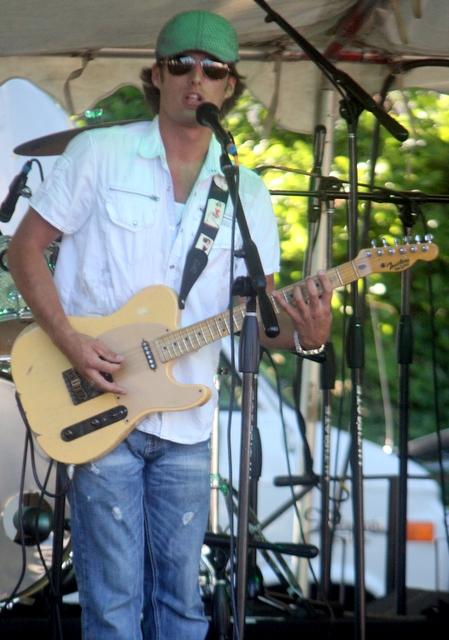 Chris Egan will be playing at Tour de Terrace. (Photo by David Pan)