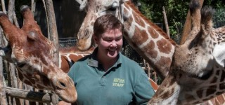 Happening nearby: Local woman named Zoo Keeper of the Year
