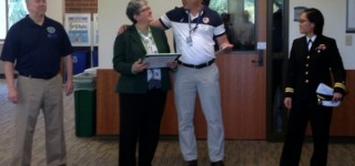 Edmonds Community College President receives Patriot Award