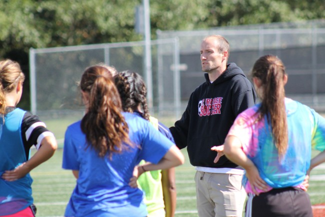 Evan Hatch has compiled an overall record of 21-15-3 in his first two years as MTHS girls soccer coach