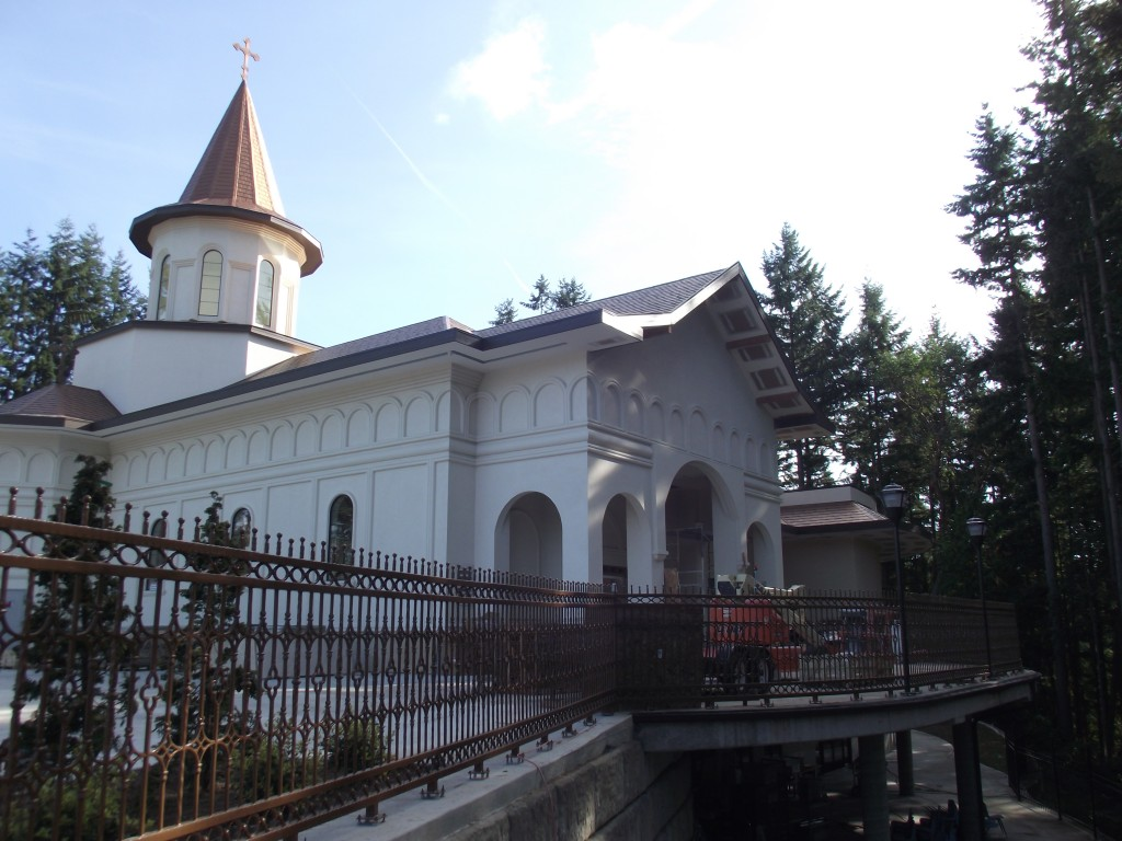 After more than five years of construction, The Three Heirarchs Church, a Romanian Orthodox parish church, is scheduled to hold its first services this weekend in Mountlake Terrace. (Photos by Doug Petrwoski)