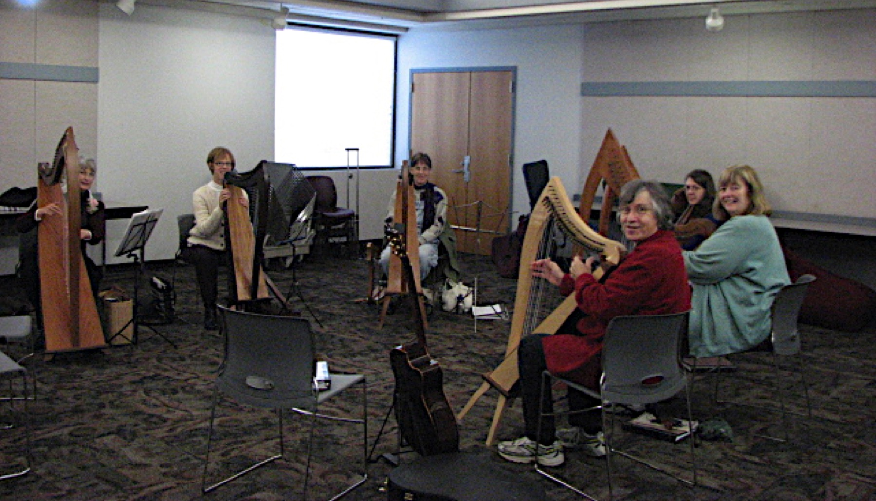 Harp Circle from the Past