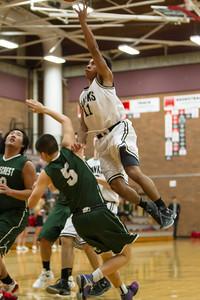 MTHS boys basketball 61 - Shorecrest 49, Jan. 8, 4