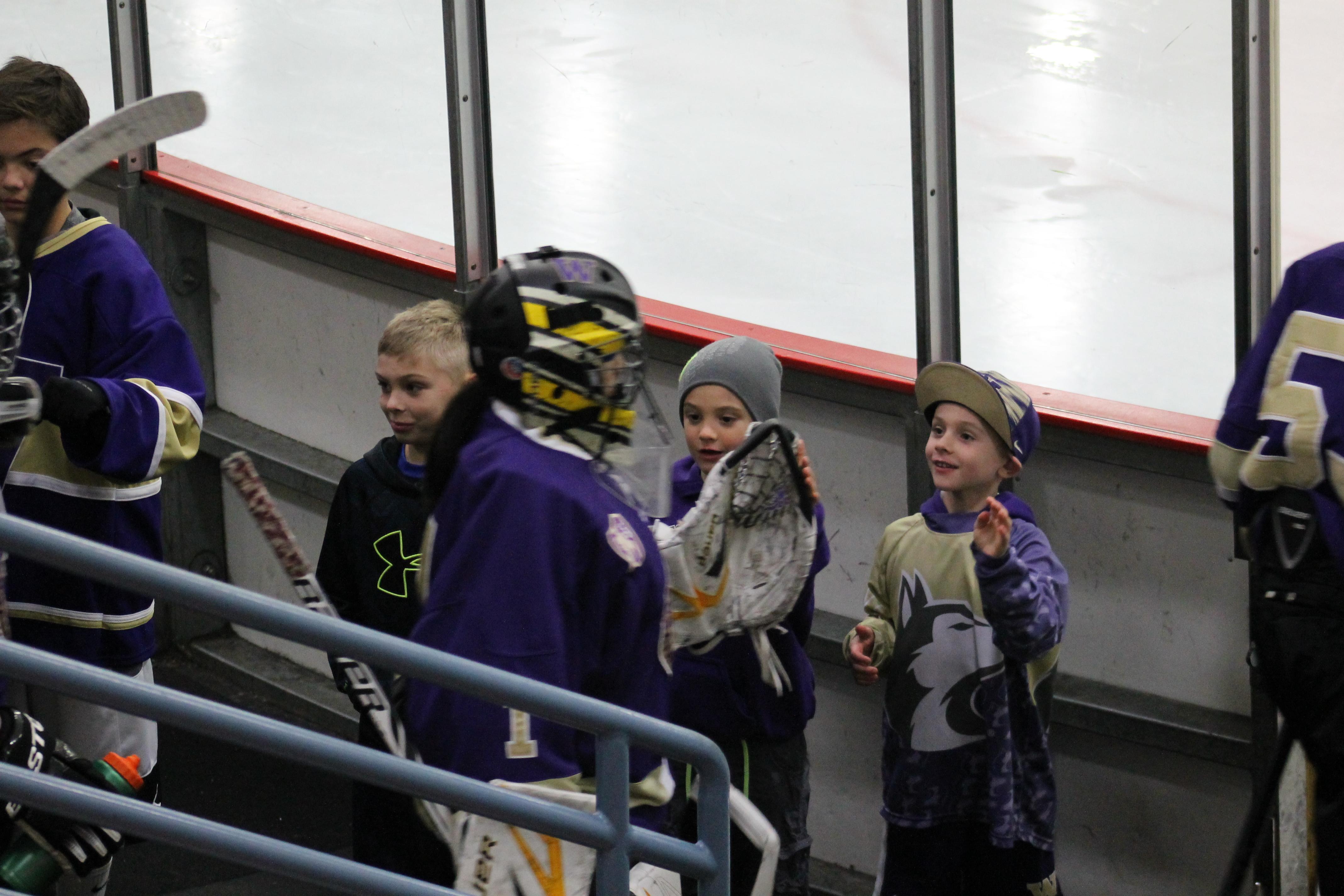 UW Hockey at OlympicView Arena, Jan. 9 091