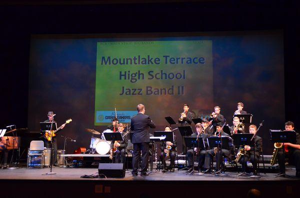 Mountlake Terrace High School's Jazz Band II.
