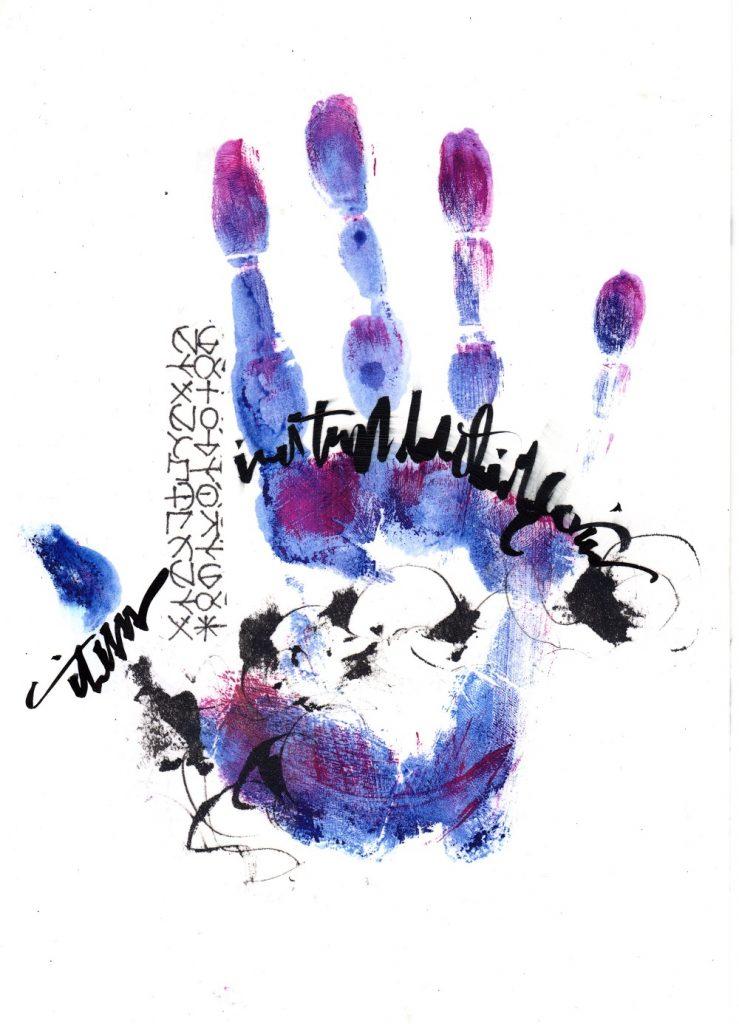 "Kellie Moeller ""Written on the Palms of His Hands"""