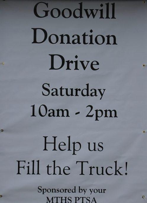 MTHS Goodwill drive, Sept. 10 001