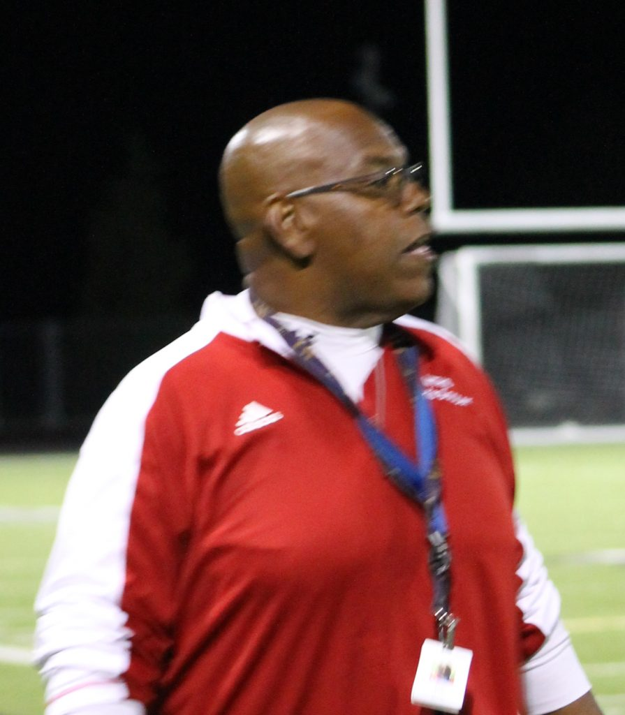 MTHS girls soccer coach Alvin Little (File photo by Doug Petrowski)